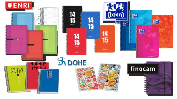Agendas escolares curso 2014 - 2015